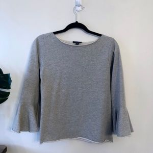Saks Fifth Avenue • Sweatshirt w/ Flare Sleeves
